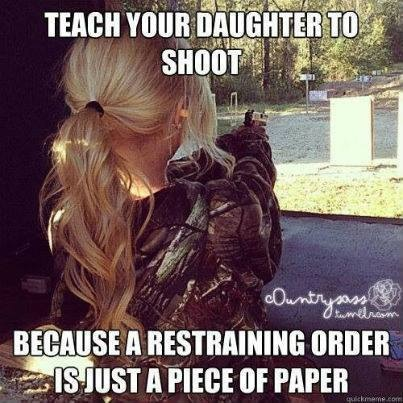 Teach Your Daughter To Shoot